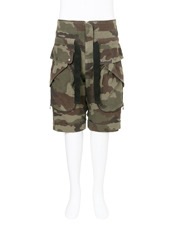 FAITH CONNEXION() Cargo Camo Shorts