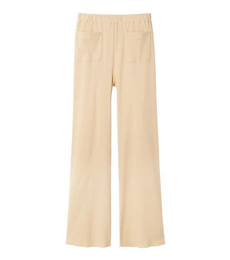 AKANE UTSUNOMIYA(アカネウツノミヤ)のRib Knit Pants-LIGHT BEIGE(パンツ/pants)-W16FCT012001-51 詳細画像4
