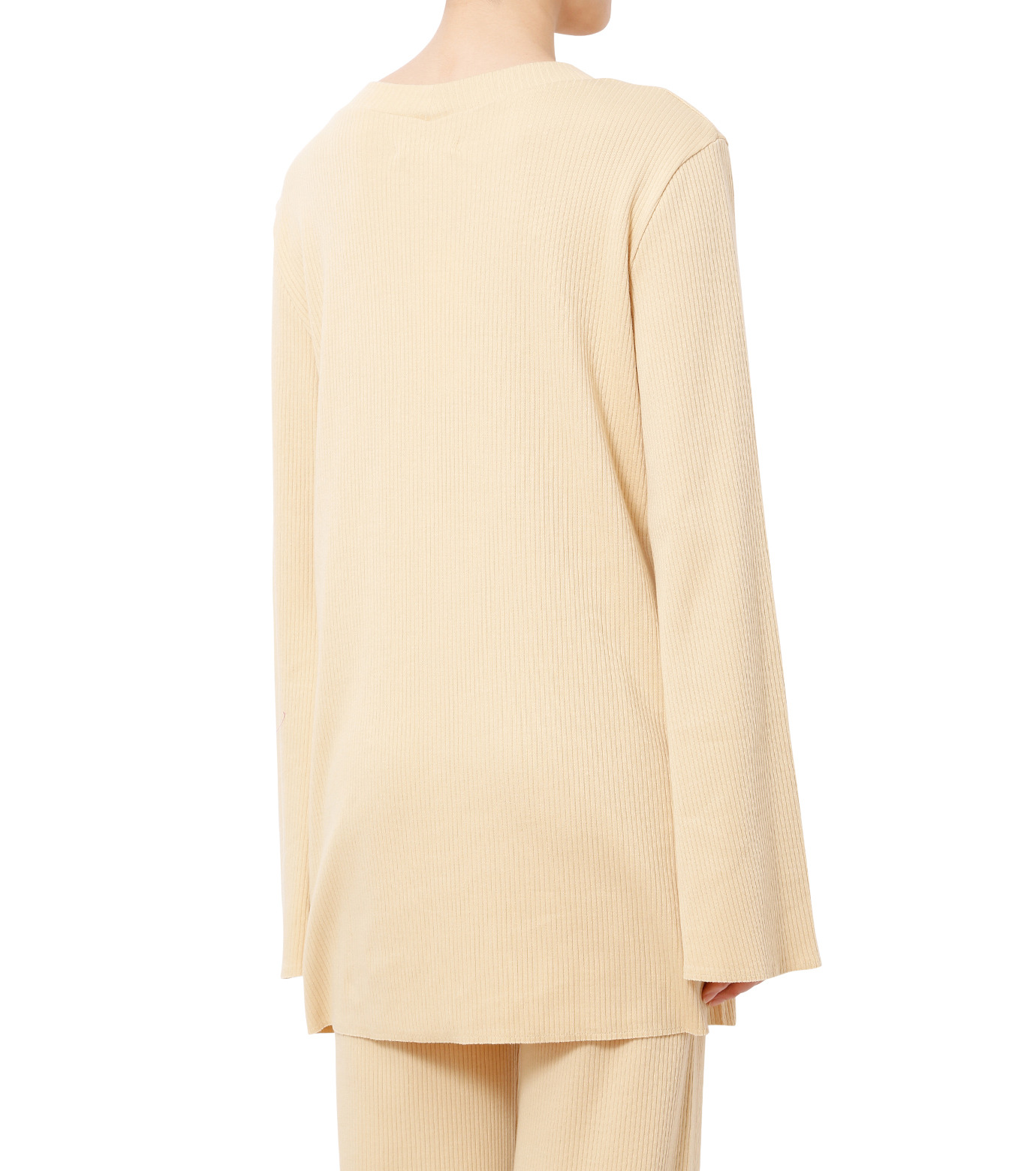 AKANE UTSUNOMIYA(アカネウツノミヤ)のLong Sleeve Rib Knit Pullover-LIGHT BEIGE(ニット/knit)-W16FCT032001-51 拡大詳細画像2