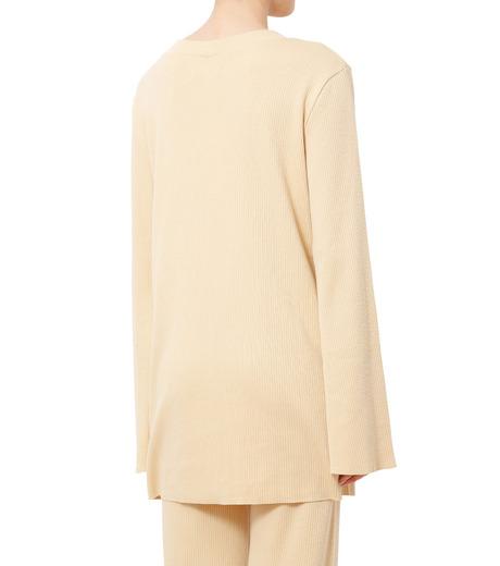 AKANE UTSUNOMIYA(アカネウツノミヤ)のLong Sleeve Rib Knit Pullover-LIGHT BEIGE(ニット/knit)-W16FCT032001-51 詳細画像2