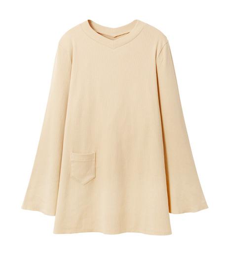 AKANE UTSUNOMIYA(アカネウツノミヤ)のLong Sleeve Rib Knit Pullover-LIGHT BEIGE(ニット/knit)-W16FCT032001-51 詳細画像4