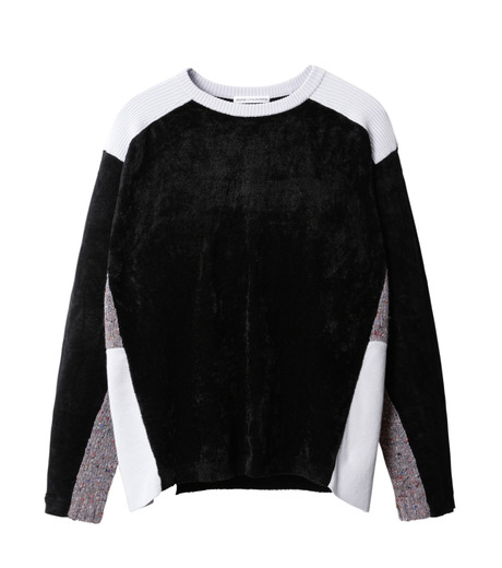 AKANE UTSUNOMIYA(アカネウツノミヤ)のColor Blocked Pullover-BLACK(ニット/knit)-W16FK301013-13 詳細画像1