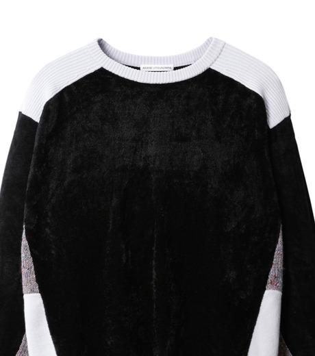 AKANE UTSUNOMIYA(アカネウツノミヤ)のColor Blocked Pullover-BLACK(ニット/knit)-W16FK301013-13 詳細画像2