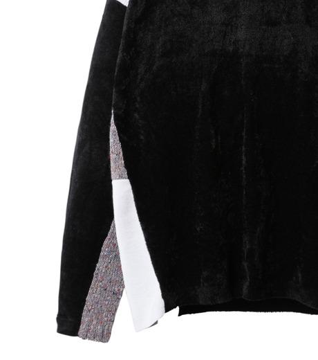 AKANE UTSUNOMIYA(アカネウツノミヤ)のColor Blocked Pullover-BLACK(ニット/knit)-W16FK301013-13 詳細画像3