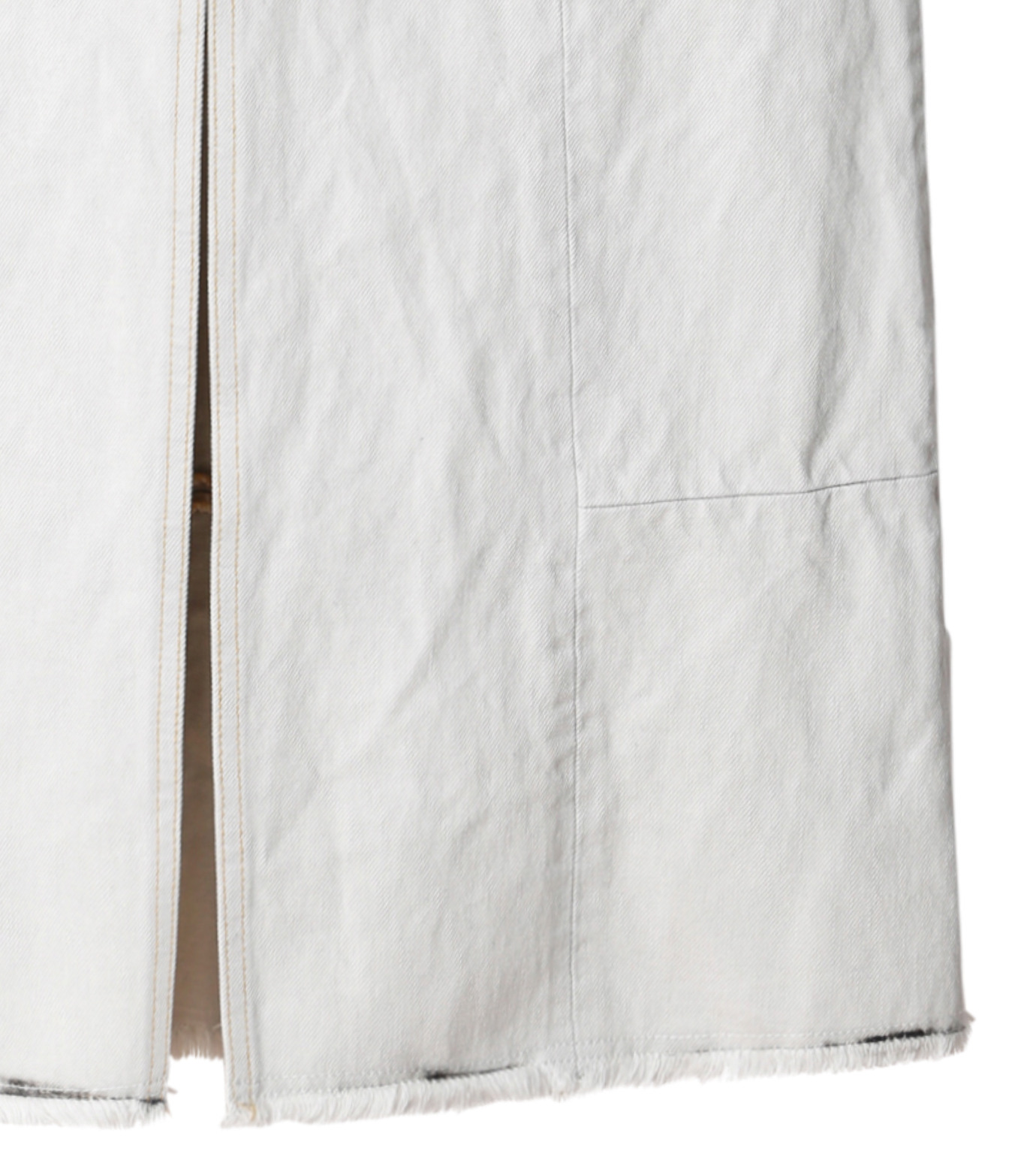 AKANE UTSUNOMIYA(アカネウツノミヤ)のDip Dye Denim Skirt-BLACK(スカート/skirt)-W16FSK383002-13 拡大詳細画像3