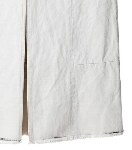 AKANE UTSUNOMIYA(アカネウツノミヤ)のDip Dye Denim Skirt-BLACK(スカート/skirt)-W16FSK383002-13 詳細画像3