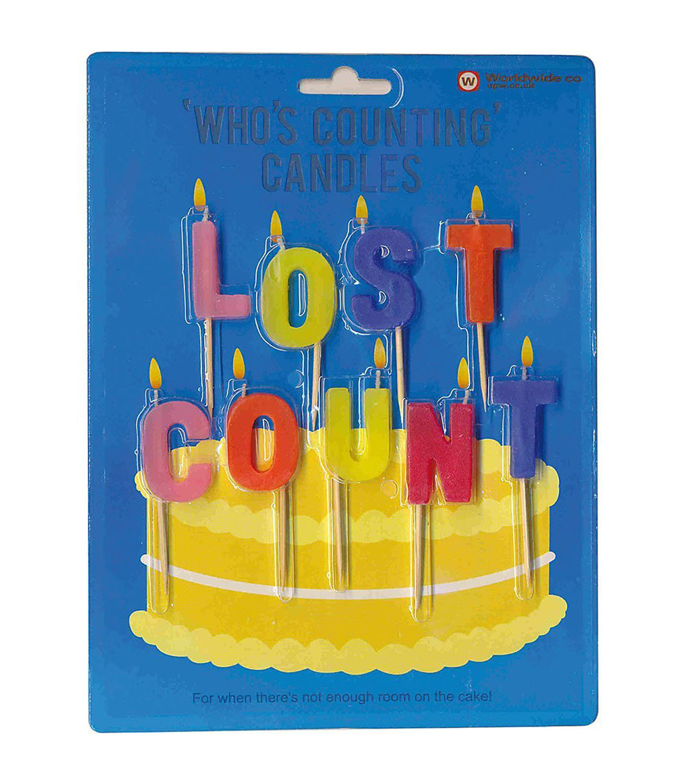 npw()のLost Count - Who's Counting Candles-BLUE(アザーズ/others)-W4267-92 拡大詳細画像1