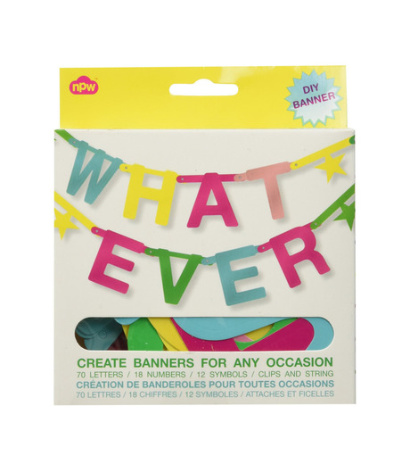 npw()のWhatever Banner Kit-MULTI COLOUR(アザーズ/others)-W7541-9 詳細画像1