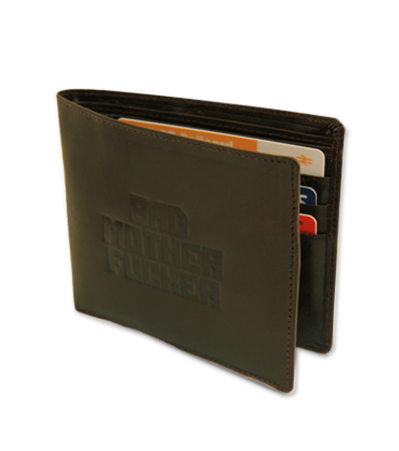 Thumbs Up(サムズアップ)のBad MO**** FU**** Wallet-BROWN(アザーズ/others)-WALLETBMF-42 拡大詳細画像1