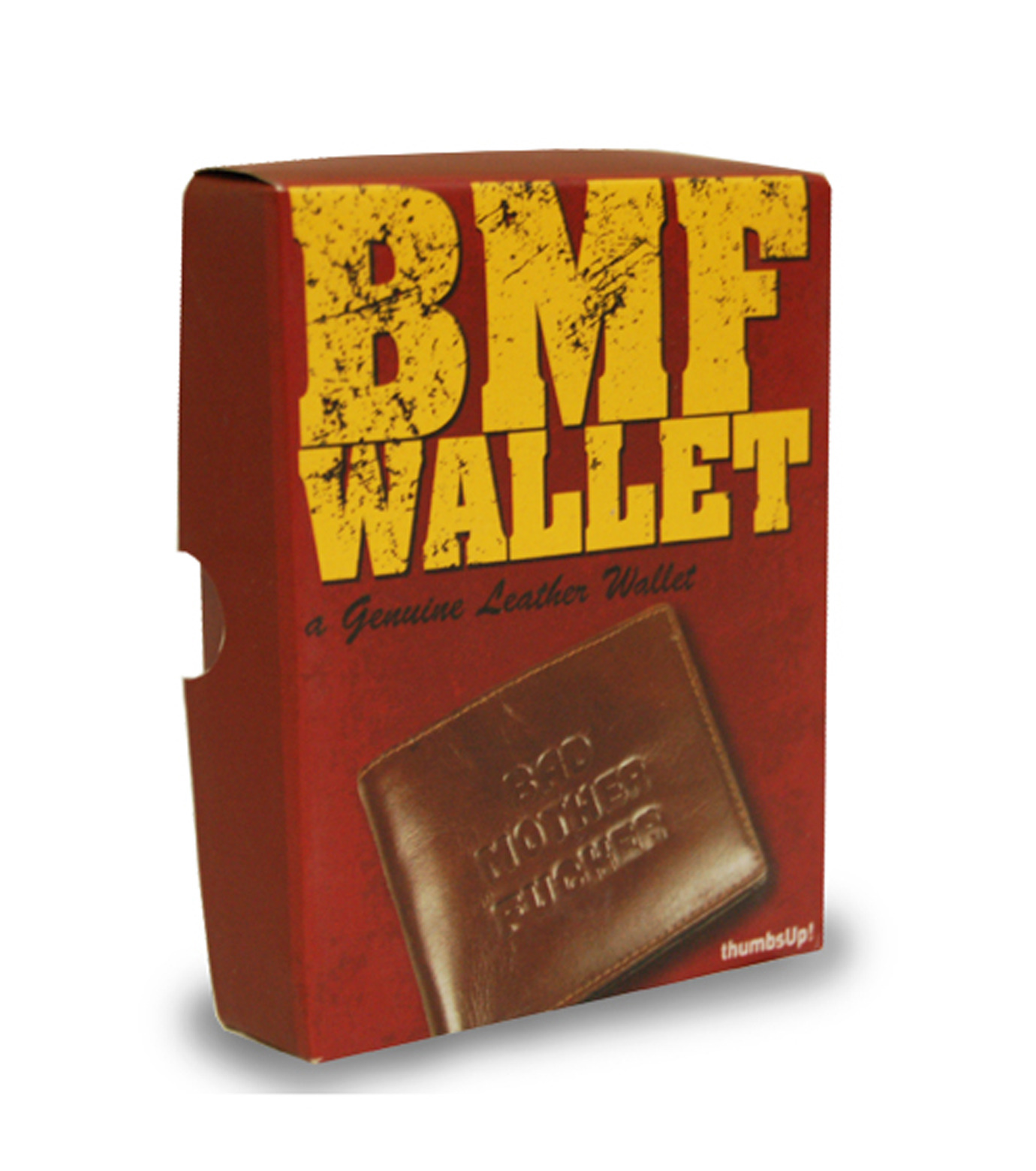 Thumbs Up(サムズアップ)のBad MO**** FU**** Wallet-BROWN(アザーズ/others)-WALLETBMF-42 拡大詳細画像4