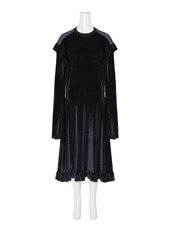 VETEMENTS 70's Dress Velvet