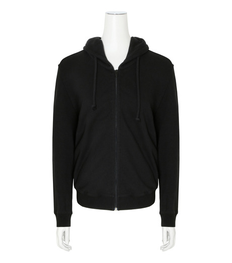 VETEMENTS(ヴェトモン)のShrunk Hoodie-BLACK(カットソー/cut and sewn)-WF17TP15-13 詳細画像1