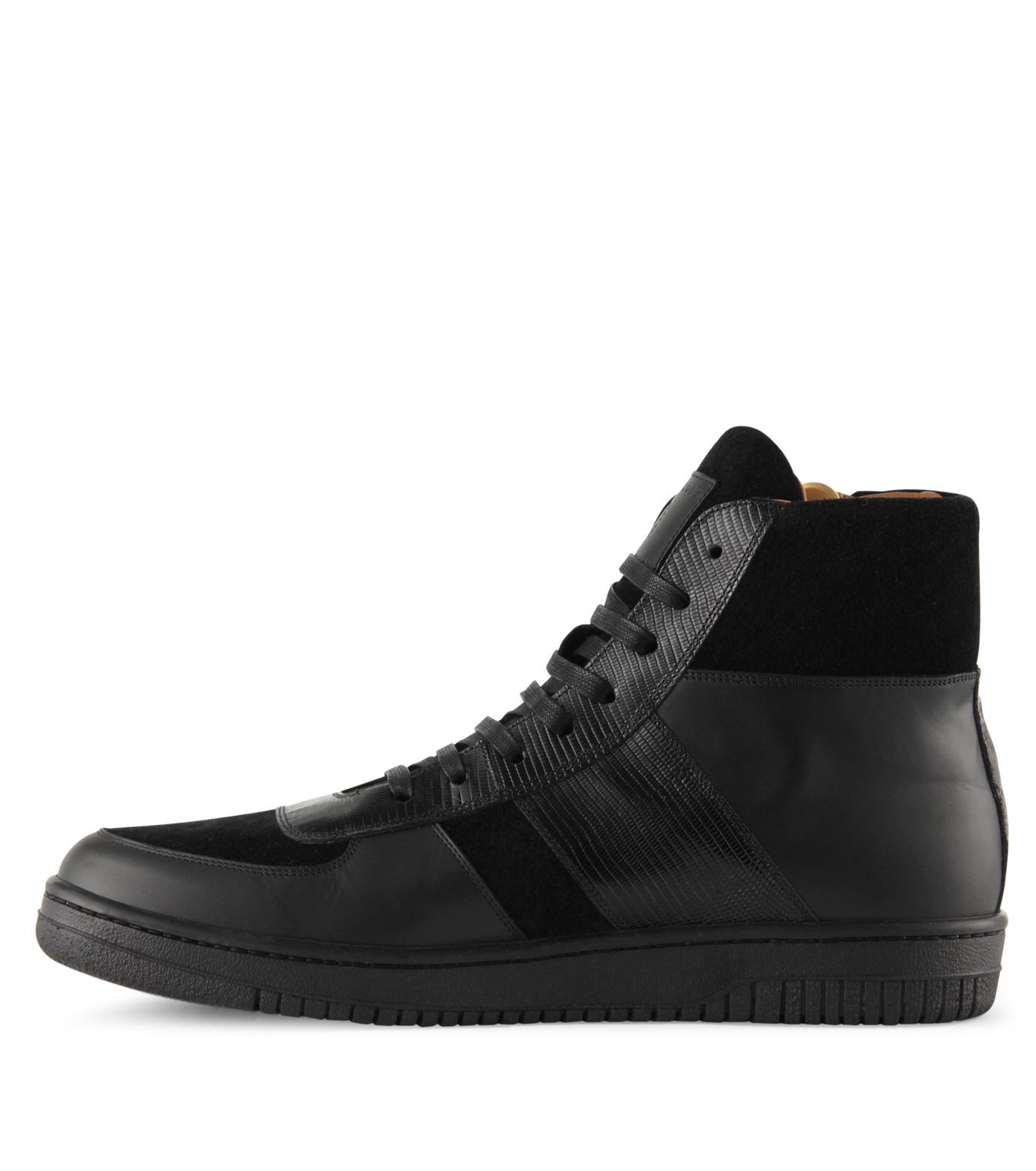 Marc Jacobs(マーク ジェイコブス)のSide zip sneaker-BLACK-WS0076-13 拡大詳細画像2