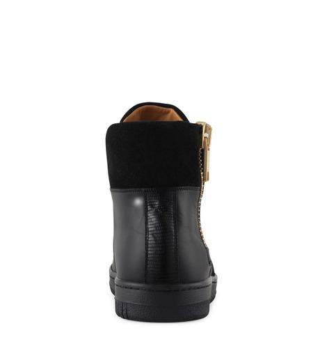 Marc Jacobs(マーク ジェイコブス)のSide zip sneaker-BLACK-WS0076-13 詳細画像3