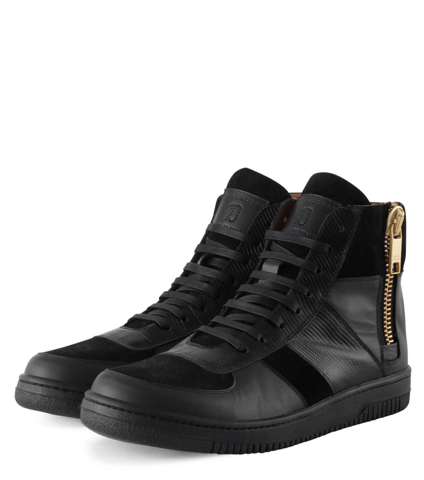 Marc Jacobs(マーク ジェイコブス)のSide zip sneaker-BLACK-WS0076-13 拡大詳細画像4