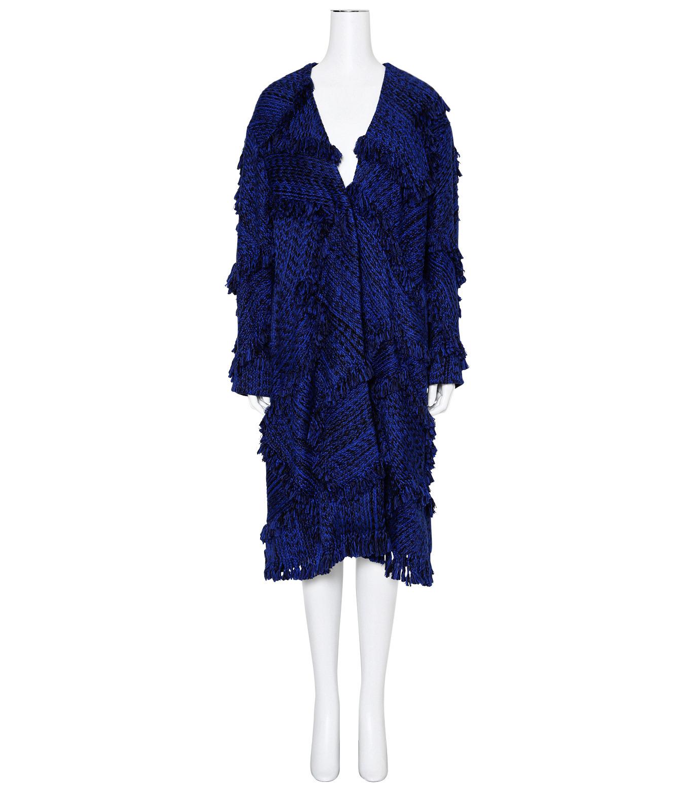 XU ZHI()のOversizre Coat Braid-BLUE(コート/coat)-XZFW160104-92 拡大詳細画像1