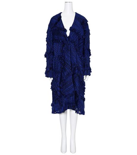 XU ZHI()のOversizre Coat Braid-BLUE(コート/coat)-XZFW160104-92 詳細画像1