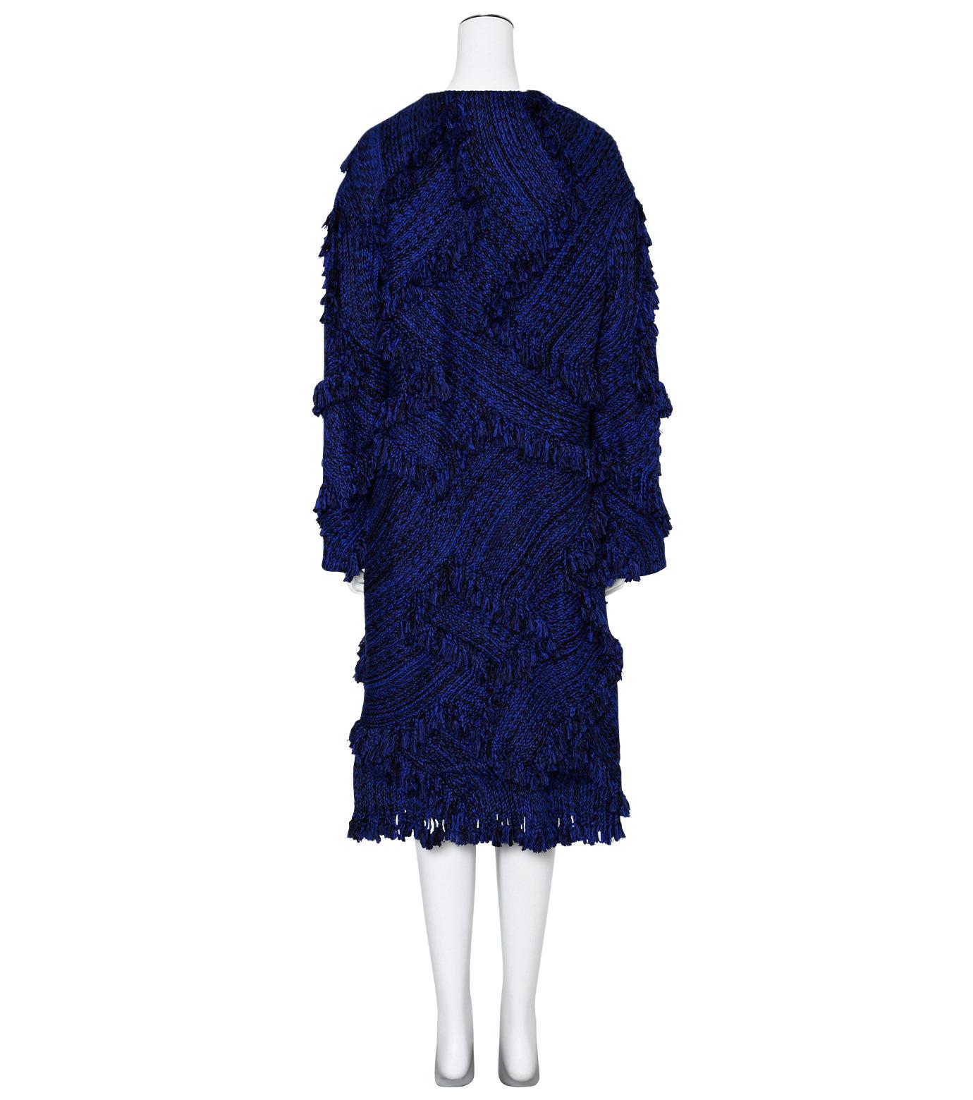 XU ZHI()のOversizre Coat Braid-BLUE(コート/coat)-XZFW160104-92 拡大詳細画像2