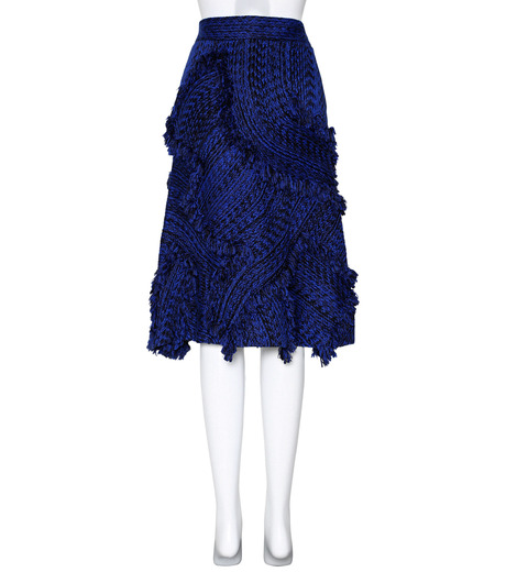 XU ZHI()のA Line Skirt Braid-BLUE(スカート/skirt)-XZFW160301-92 詳細画像2