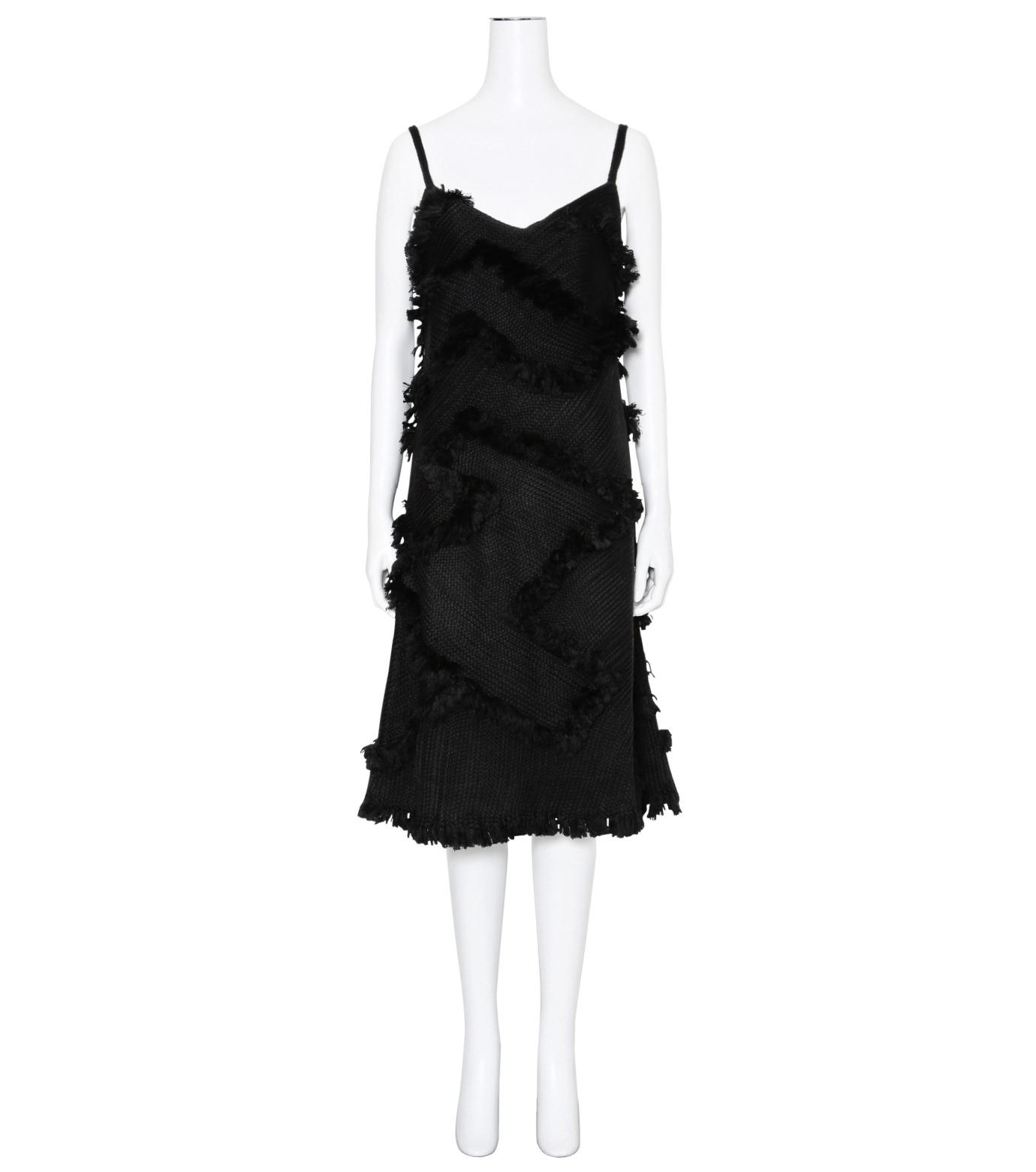 XU ZHI()のStrap Dress Braid-BLACK(ワンピース/one piece)-XZFW160404-13 拡大詳細画像1
