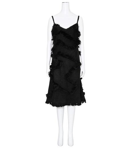XU ZHI()のStrap Dress Braid-BLACK(ワンピース/one piece)-XZFW160404-13 詳細画像1