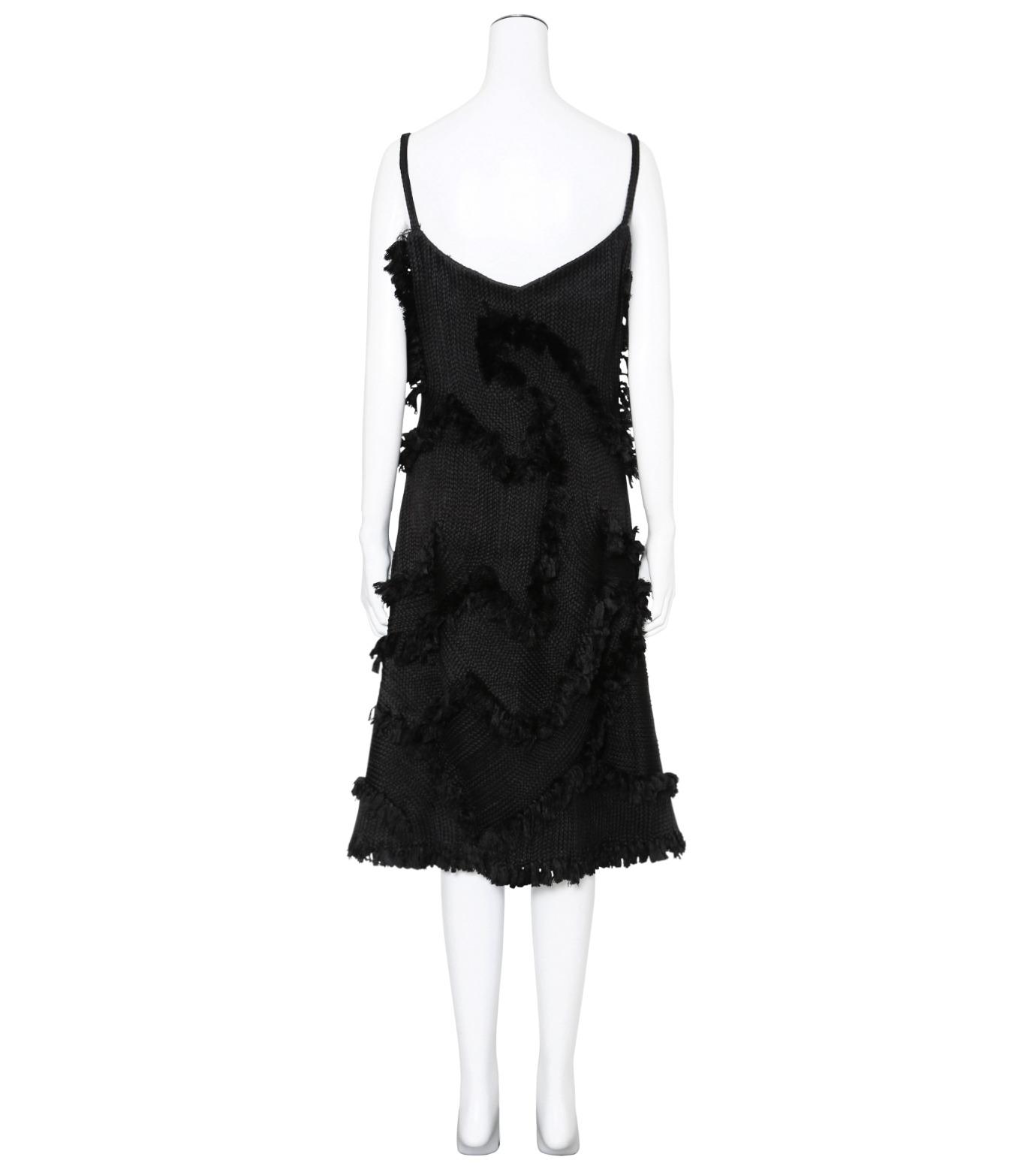 XU ZHI()のStrap Dress Braid-BLACK(ワンピース/one piece)-XZFW160404-13 拡大詳細画像2