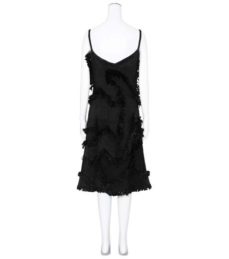 XU ZHI()のStrap Dress Braid-BLACK(ワンピース/one piece)-XZFW160404-13 詳細画像2