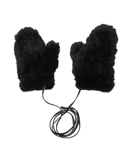 Yves Salomon(イヴ サロモン)のMitten-BLACK(アクセサリー/accessory)-Y5852XXKRE-13 詳細画像1