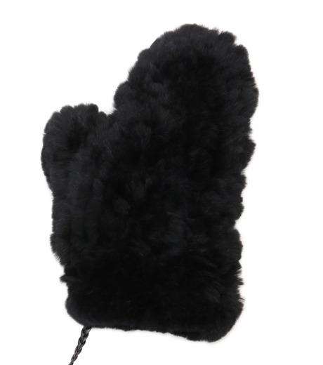 Yves Salomon(イヴ サロモン)のMitten-BLACK(アクセサリー/accessory)-Y5852XXKRE-13 詳細画像2