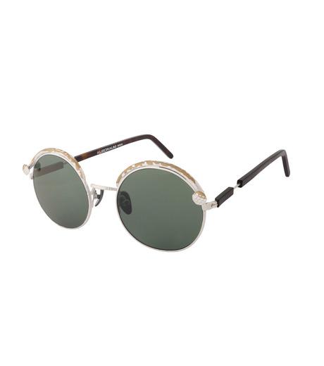 KUBORAUM()のTortoise Shine-SILVER(アイウェア/eyewear)-Z1-TS-1 詳細画像1