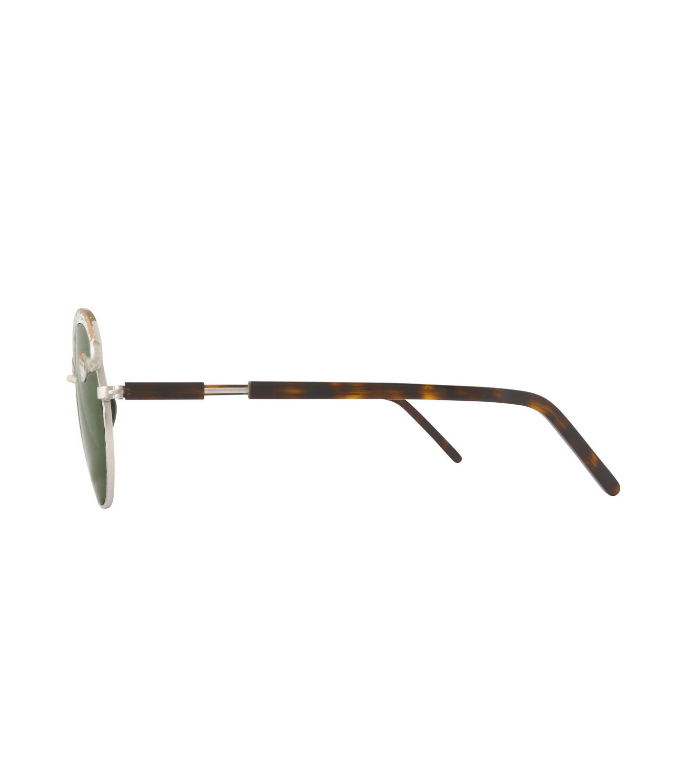 KUBORAUM()のTortoise Shine-SILVER(アイウェア/eyewear)-Z1-TS-1 拡大詳細画像2