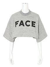 Facetasm(ファセッタズム) Face Sweat T-shirt