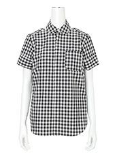 Facetasm(ファセッタズム) Gingham Backless Shirt