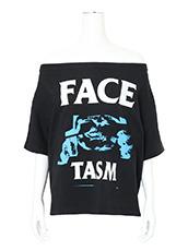 Facetasm(ファセッタズム) Off Shoulder T-Shirt