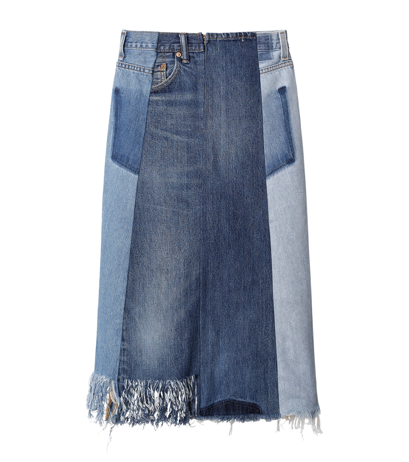 77circa(77サーカ)のFringe Denim Skirt-INDIGO(スカート/skirt)-cc16ss-49-94 拡大詳細画像2