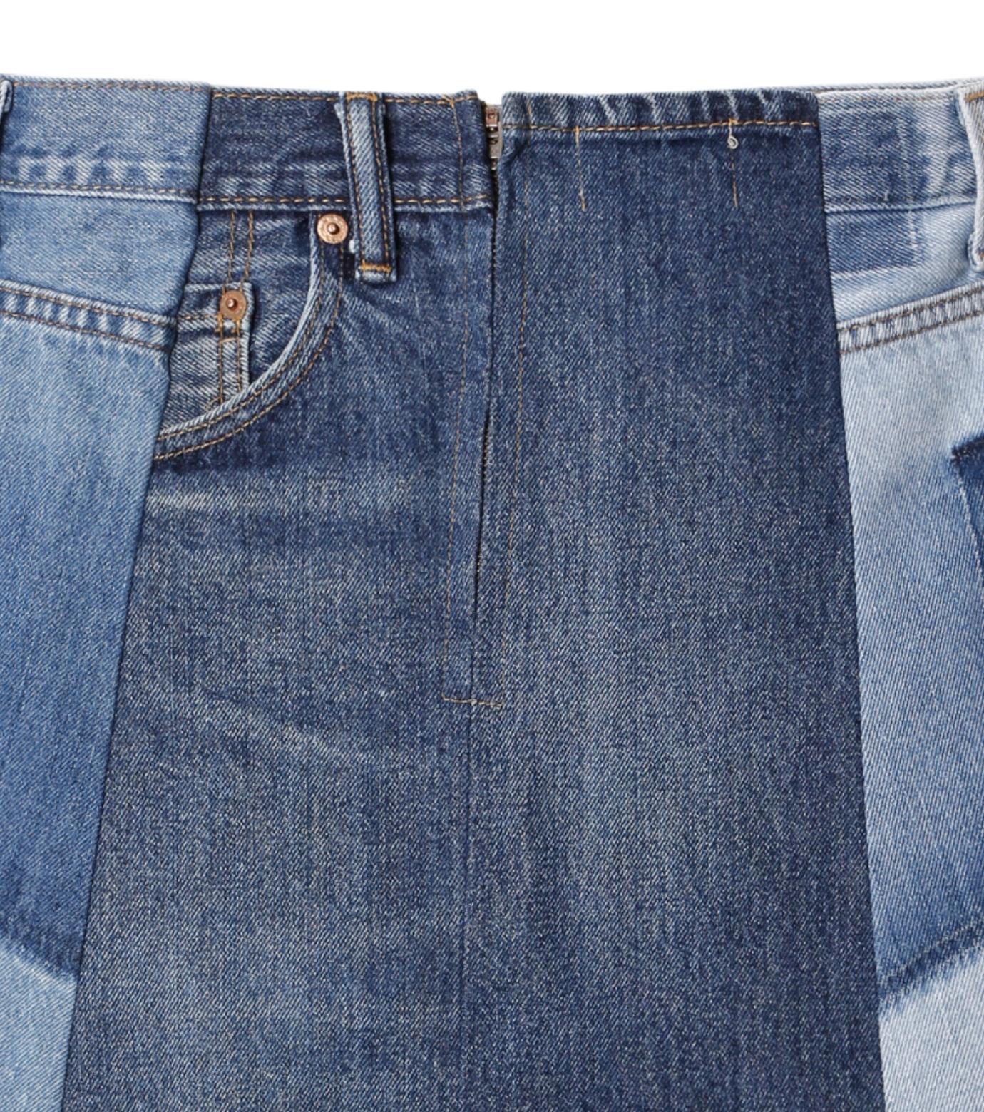 77circa(77サーカ)のFringe Denim Skirt-INDIGO(スカート/skirt)-cc16ss-49-94 拡大詳細画像4