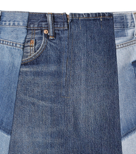 77circa(77サーカ)のFringe Denim Skirt-INDIGO(スカート/skirt)-cc16ss-49-94 詳細画像4