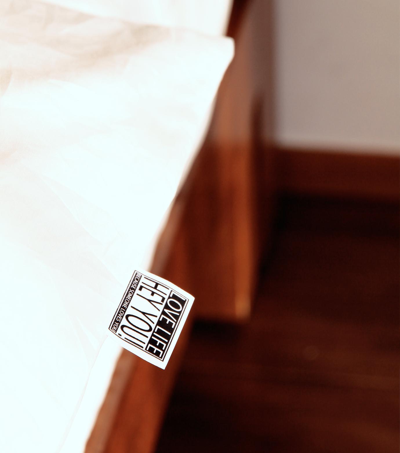 HEY YOU !(ヘイユウ)のDuvet cover/queen-WHITE(インテリア/interior)-duvetcover-Q-4 拡大詳細画像3