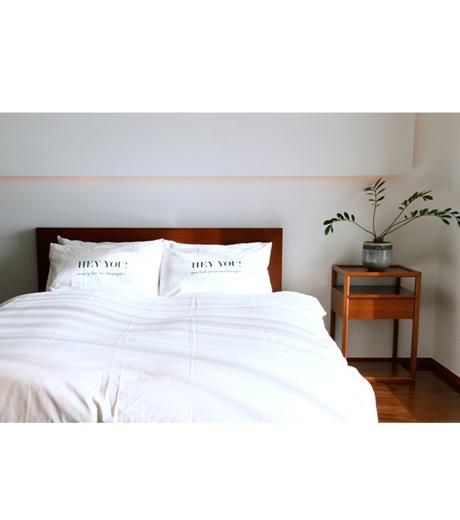 HEY YOU !(ヘイユウ)のDuvet cover/queen-WHITE(インテリア/interior)-duvetcover-Q-4 詳細画像4