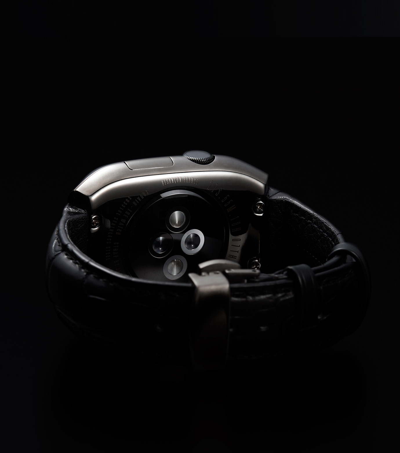 SQUAIR(スクエア)のTHE WATCH 38mm-BLACK(ガジェット/gadgets)-thewatch-38-13 拡大詳細画像7