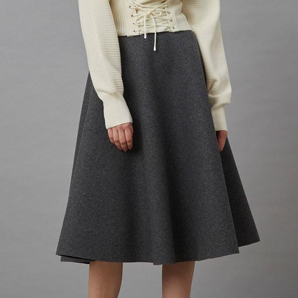 W Melton Tent Skirt