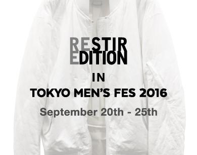 TOKYO MEN'S FES 2016